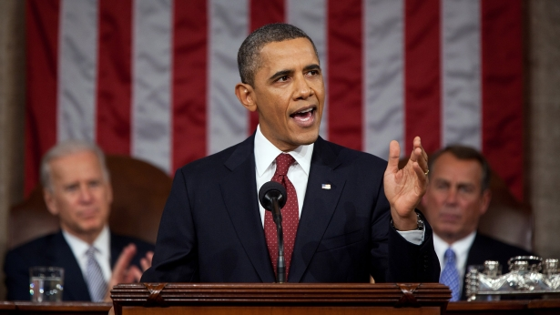 President Obama delivers the 2012 State of the Union address. Photo: White House