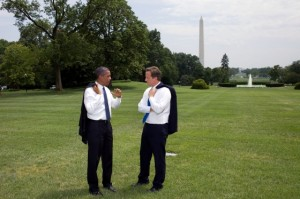 President Obama and British Prime Minister David Cameron at the White House. Photo: White House