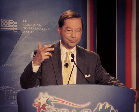 Heritage's Hans von Spakovsky speaks about voter fraud at Colorado CPAC last week.