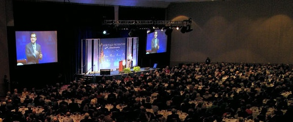 Sen. Ted Cruz (R-TX) speaks at Heritage's Annual Leadership Conference and Board Meeting Tuesday.