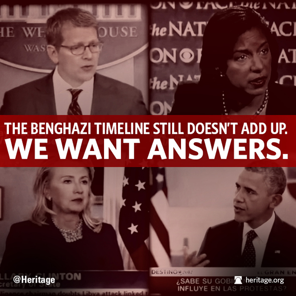 The Benghazi timeline still doesn't add up. We want answers.