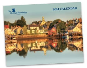 2014 Heritage Foundation calendar