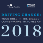 DRIVING CHANGE: Your role in the biggest conservative victories of 2018